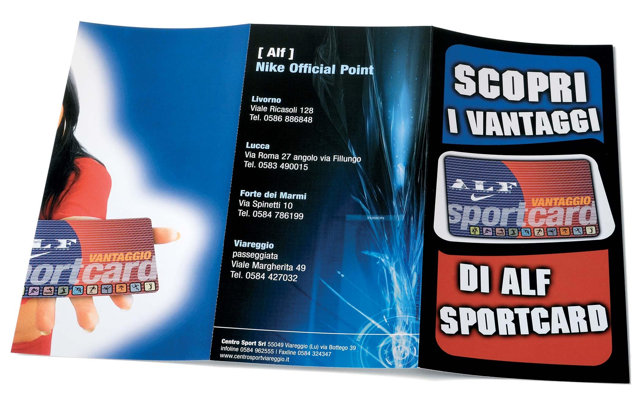 NIKE ALF Sportcard
